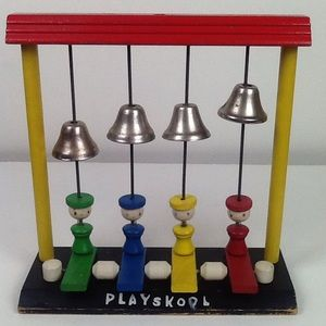 Vintage wooden playskool toy.